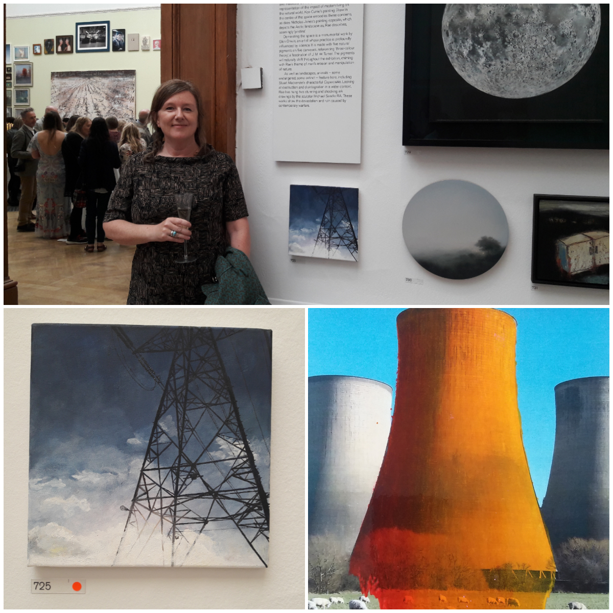 Alison Stirling exhibiting at the Royal Academy of Arts 2019